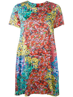 abstract print dress  Ultràchic