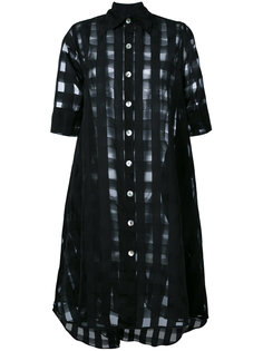 sheer shirt dress Ultràchic
