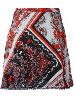 юбка с принтом пейсли Just Cavalli