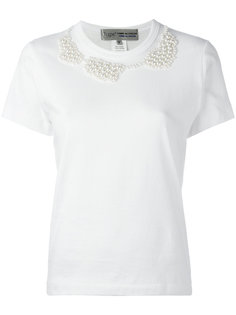 pearled trim T-shirt  Comme Des Garçons Comme Des Garçons