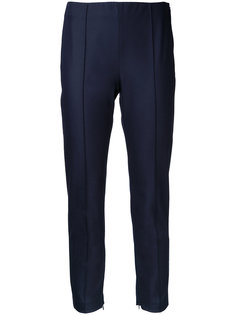 slim-fit cropped trousers Theory