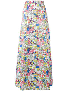 patterned maxi skirt Ultràchic