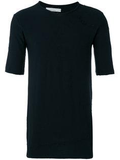 distressed T-shirt Nostra Santissima