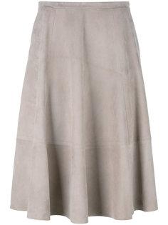 midi leather skirt  Drome