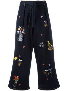 укороченные брюки Guanaco Vivetta