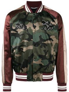 куртка бомбер с аппликацией Valentino