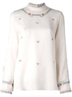Larissa Frame blouse Vilshenko