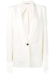 приталенный пиджак с накладными карманами Philosophy Di Lorenzo Serafini
