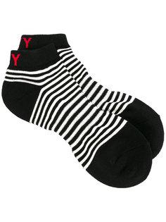 striped sport socks Yohji Yamamoto