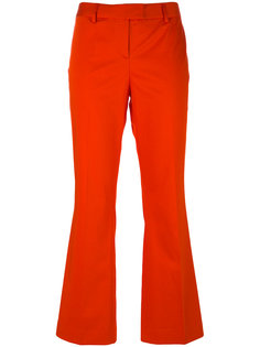 flared cropped trousers  Boutique Moschino