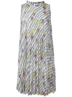 gramophone print dress  Ultràchic
