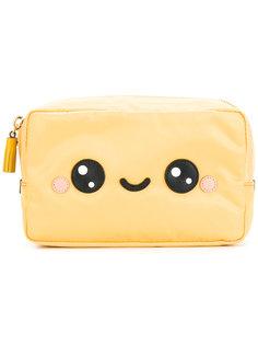 smiley face make up bag Anya Hindmarch