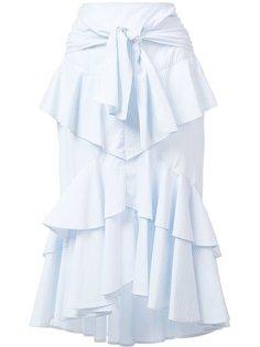 многоярусная юбка The Parker Frill Rebecca Vallance
