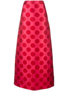 patterned maxi skirt Ultràchic
