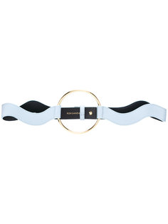 wavy gold hoop detail belt Roksanda