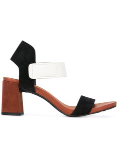 block heel velcro strap sandal Pedro Garcia