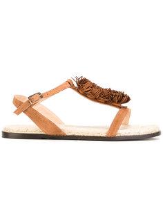 fringed trim sandals  Castañer