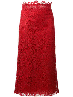 кружевная юбка Valentino