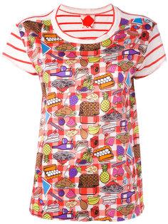 food print T-shirt  Ultràchic
