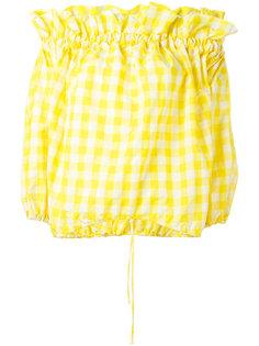 блузка с открытыми плечами Marquesalmeida