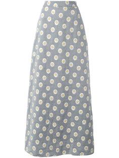 daisy print maxi skirt Ultràchic