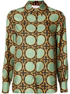рубашка с принтом в горох La Double J
