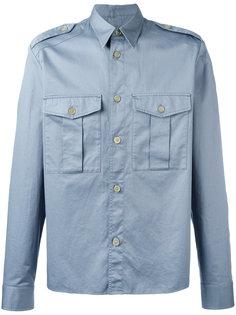 рубашка в стиле милитари Maison Margiela