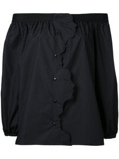 блузка с открытыми плечами Vivetta