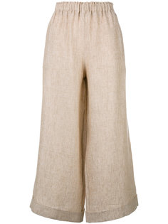 cropped wide-leg trousers Daniela Gregis