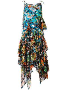 платье с цветочным узором Marquesalmeida