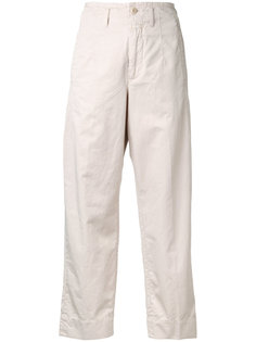 straight cropped trousers Closed