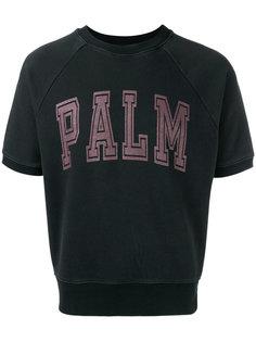 укороченная футболка с надписью Palm Palm Angels
