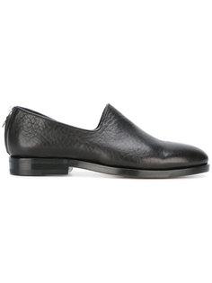 zip-back loafers Measponte