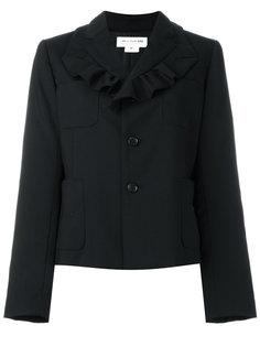 пиджак с рюшами на воротнике Comme Des Garçons Girl