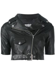 укороченная куртка с короткими рукавами Jeremy Scott