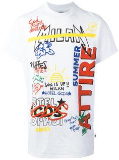 футболка Writing  Gcds