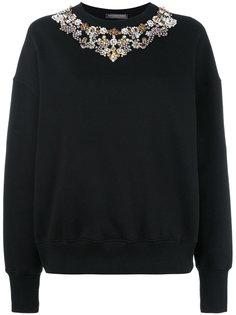 декорированный свитер Alexander McQueen