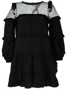 платье с рюшами Nº21