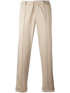 укороченные брюки с полосками по бокам Gcds