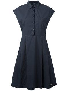 приталенное плиссированное платье  Woolrich