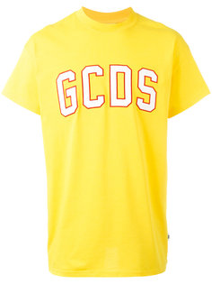 футболка с заплаткой с логотипом Gcds