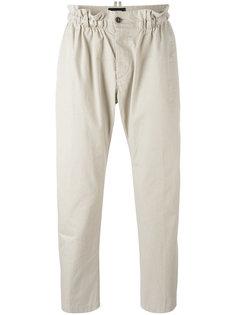 брюки с эластичным поясом Dsquared2