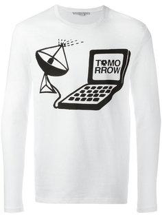 футболка с длинными рукавами и принтом Stella McCartney
