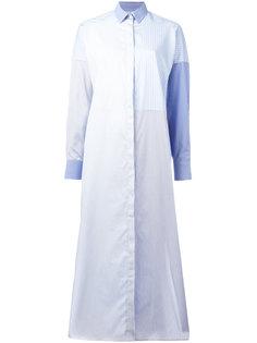 полосатое платье-рубашка  Each X Other