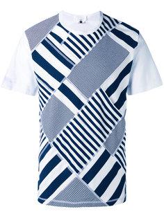 полосатая футболка Ganryu Comme Des Garcons
