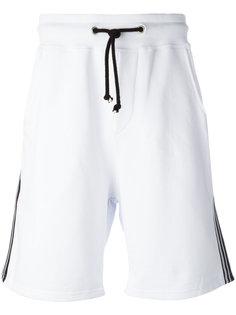спортивные шорты с полосками по бокам Gcds