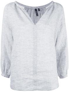 блузка с V-образным вырезом Woolrich