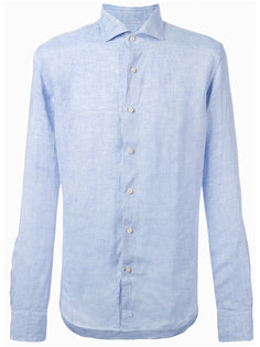 джинсовая рубашка на пуговицах Xacus