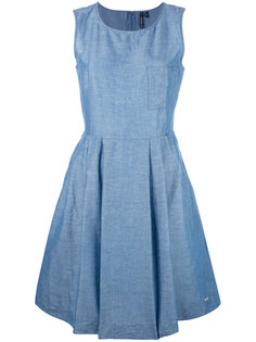 джинсовое расклешенное платье  Woolrich