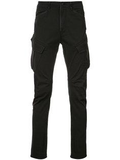 зауженные брюки Hudson